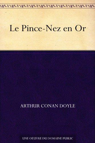 Couverture du livre Le Pince-Nez en Or