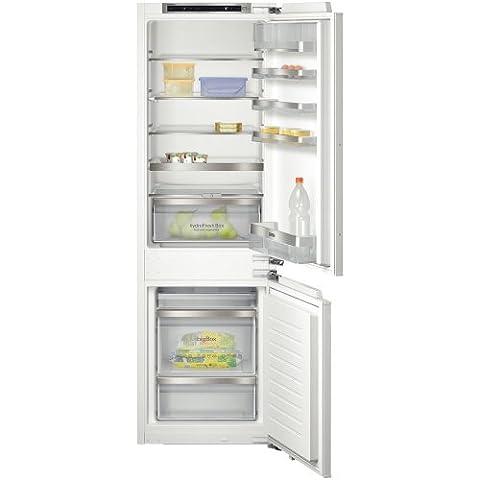 Siemens KI86SAF30 iQ500 Einbau-Kühl-Gefrier-Kombination / A++ / Kühlen: 194 L / Gefrieren: 74 L / SuperCooling / BigBox / EcoPlus / Flachschanier
