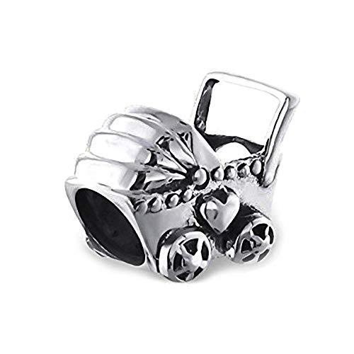 Baby Sterling-Silber 925 für Pandora/Chamilia Armbänder, Kristallbesetzt,