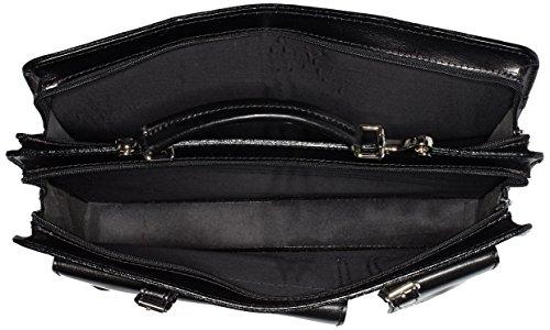 Bags4Less Unisex-Erwachsene Mondial Laptop Tasche, 10 x 30 x 40 cm Schwarz (Schwarz)