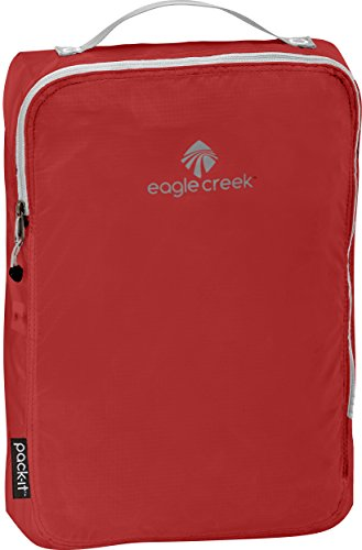 Eagle Creek Ultra-Light Packing Solution Pack-It Specter Cube Medium Organizer for Suitcases Organiseur de Bagage, 36 cm, 10.5 liters, Rouge (Volcano Red)