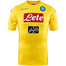 2017/18 SSC Napoli Stadium away jersey Yellow 17/18 Naples Kappa