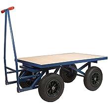 XXL Profi Plattformwagen 500 kg Transportwagen Handwagen Magazinwagen Kommission
