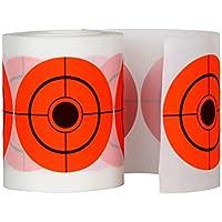 VORCOOL Etiqueta engomada redonda de la blanco de la salpicadura de la blanco del tiroteo de 250Pcs los 7.5cm para tirar