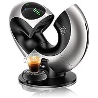 De'Longhi EDG 736.S | NESCAFÉ Dolce Gusto Eclipse | Kapsel Kaffeemaschine | Für heiße und kalte Getränke | 15 bar Pumpendruck für samtige Crema | Automatische Wasserdosierung | Silber-Metall
