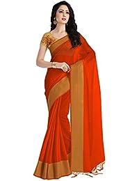 Venisa Cotton Designer Heavy Embroidery Saree With Blouse Piece