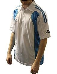 Henselite profesional–Camisa de bolos, color azul, blanco, small