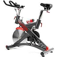 Preisvergleich für Hop-Sport Indoor Cycle HS-075IC Indoorcycling Speedbike Schwungrad 24 kg Pulsmessung Transportrollen Bluetooth 4.0