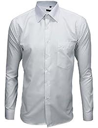 giosal Camisa de vestir para hombre