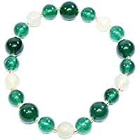Bracelet Green Aventurine + Green Jade 10 MM + 8 MM Birthstone Handmade Healing Power Crystal Beads preisvergleich bei billige-tabletten.eu