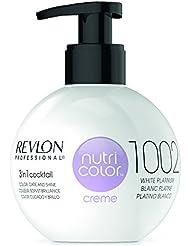 REVLON PROFESSIONAL Nutri Color Crème Soin Couleur Repigmentant 1002 Blond Platine, 270ml