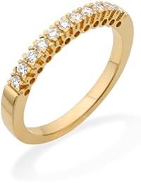 Miore MC223Y Memoire - Diamantring 18 Karat (750) Gelbgold mit 11 Brillanten zus.0,25Ct - IGI Zertifikat