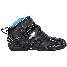 Spada - Botas de moto compactas impermeables, color negro