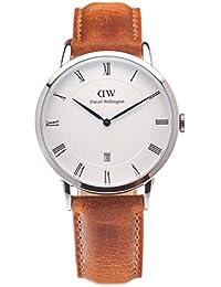 Daniel Wellington Dapper Herren-Armbanduhr Analog Quarz Leder - DW00100116