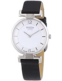 Boccia Damen-Armbanduhr XS Analog Quarz Leder 3238-01