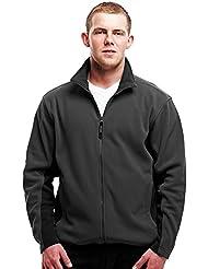 Regatta hombres de la energía II chaqueta de forro polar–ceniza/negro (TRF561AB), hombre, color Ash Grey / Black, tamaño medium