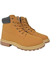 375ed6400 vidaXL Botas Zapatos Mocasines de Vestir Zapatos de Vestir Negocios para  Hombre Camel