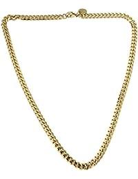 f7a49d29ef3e Collar o Pulsera Cadena Gourmette 18k oro doublé joyeria desde la fábrica  italiana tendenze regalo mujer y…