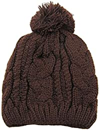 Sanwood Unisex Strick Mütze Hat gestrickt Hut Warm Cap