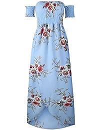 ba53ce21bf Vestido de Playa Floral Ligeros Tallas Primavera Verano Playero Verano Mujer  Temporada