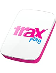 Trax Play NEUES verbessertes Live draussen GPS Ortungsgerät für Kinder und Haustiere, rosa
