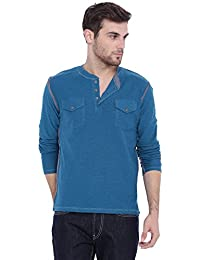 ARISE Regular Fit Round Neck Sports T-shirt For Men - Casual Men's Tees - Blue