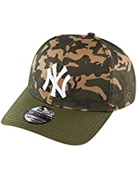 A NEW ERA Era Camo Stretch NY Yankees Woodland Gorra, Hombre, S/M