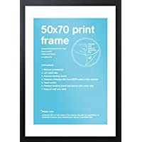 GB eye Eton Frame, Black, 50 x 70 cm