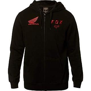 Fox Racing Honda Fleece Zip Hoody Large Blk