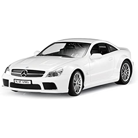 iCees - Coche Mercedes Benz S650 Wireless Bluetooth control, color blanco (ICARMERCW)
