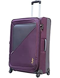 462ad9abec78 Skybags Amore 68 cms Polyester Purple Softsided Check-in Luggage  (STAMOWH68PPL)