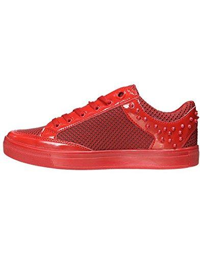 Tamboga - Sneakers fashion rouge Tamboga 3026 Rouge Rouge