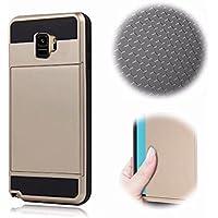 Galaxy S9 Armadura Funda,MingKun Anti-Arañazos Panel Trasero Parachoques TPU a Prueba de Choques Cubierta Delgada Cover para Samsung Galaxy S9 Cáscara