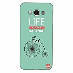 Designer Samsung Galaxy A8 Case Cover Nutcase -Life , Balance & Cycle
