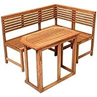 Suchergebnis auf Amazon.de für: Balkon-Eckbank - Holz: Garten