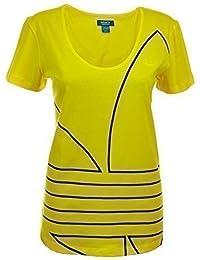 Adidas Climachill Top T Shirt Gelb Damen Fitnesstraining