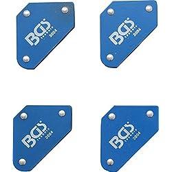 BGS 3004 | Jeu de supports magnétiques mini | 45° - 90° - 135° | 4 pièces