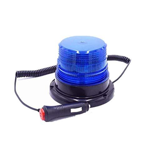 Estroboscópica para coche camión barco carretilla elevadora de imán para luz nocturna de seguridad señal Azul color DC12 V