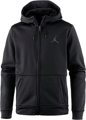 Jordan Herren Hoodie schwarz M (Abdeckung Hoodie Pullover)