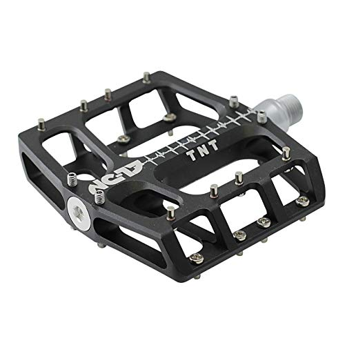 NC-17 Sudpin IV XL TNT Aluminium Plattform Pedale / Mountainbike Pedal / BMX Pedal / flache Bauhöhe 17,7 mm / Fail Safe System / Präzisionslager + Cr-Mo Achse / inkl. Ersatzpins