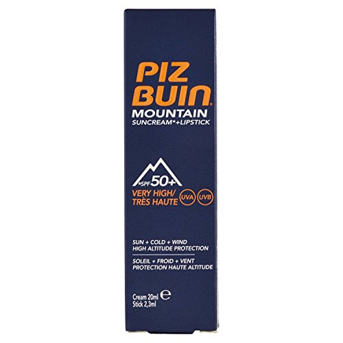 Piz buin mountain sun/lip protector con spf 50-22,3 ml