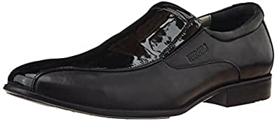 Woods Men's Black Leather Formal Shoes - 10 UK