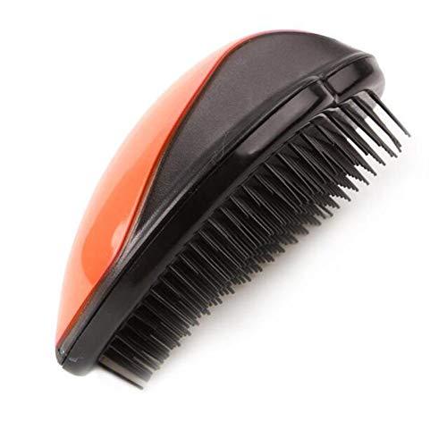 Rippenkamm Kopfhautbürste Quadratbürste Großer Boardkamm Airbag-Massagekamm Haarbürste Friseurkamm Kamm Haar-Kopfhaut-Massagegerät Haarbürstenstil orange -