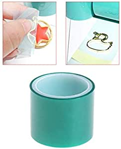 DIY UV Resin High Adhesive Paper Tape for Metal Frame Bottom Jewelry Pendant ADFEN 3Pcs 5m//roll Seamless Sticky Traceless Tape