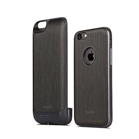 Moshi 99mo079003iGlaze Li-Ion pour Apple iPhone 6/6S acier noir