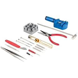 Pike & Co. Watch Repair Tool Kit 16 Piece