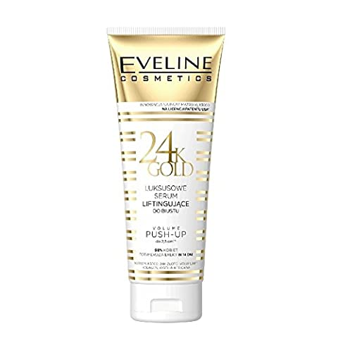 Eveline 24K Gold Luxury Lifting Bust Serum Volume Push Up Effect 250ml