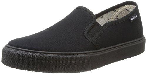 Calego - Slip On Lona Piso, Sneakers  da unisex adulto, nero(noir (negro)), 38