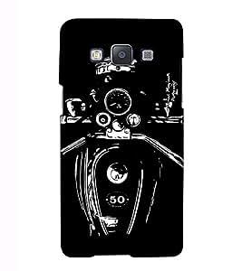 Fuson Designer Back Case Cover for Samsung Galaxy A3 (2015) :: Samsung Galaxy A3 Duos (2015) :: Samsung Galaxy A3 A300F A300Fu A300F/Ds A300G/Ds A300H/Ds A300M/Ds (The bike theme)