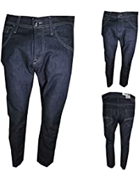 Meltin Pot Jeans Uomo moenix Tapered Fit Largo Diritto Vita Alta Hip Hop  Stretch W31 be98e186369d